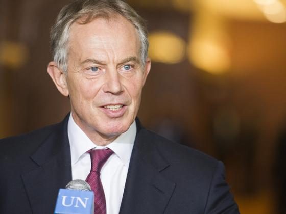 Tony Blair – 2001 Doorstep Interview During Visit of President Musharraf