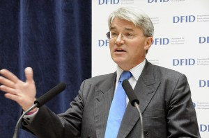 Secretary of State for International Development, Andrew Mitchell MP, addresses staff at the Department for International Development, London, 13 May 2010